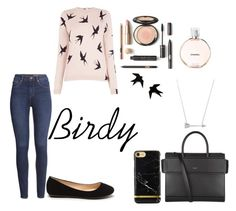 """""""Birdy"""" by taneyiah on Polyvore featuring H&M, Oasis, Givenchy, Estella Bartlett and Chanel"""