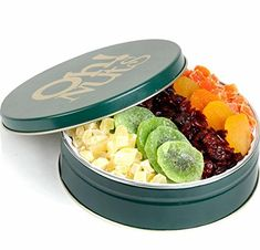 Holiday Gourmet Dried Fruit Gift Tin - http://www.specialdaysgift.com/holiday-gourmet-dried-fruit-gift-tin/