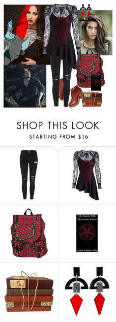 """""""Ash- First Day of School (OUAD)"""" by batgirl-at-the-walking-dead3 ❤ liked on Polyvore featuring Banned, Rituals and Toolally"""
