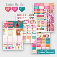 lifewithmaya.com   free planner stickers, printable stickers, the happy planner, silhouette cut files, erin condren, michaels stickers, hobby lobby