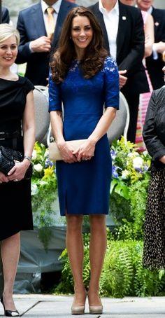 Duchess of Cambridge wearing Erdem