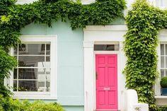 8 x kleur op de voordeur
