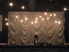 Cascade and Light from The Bayou Church in Lafayette, LA | Church Stage Design Ideas