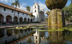 Santa Barbara Mission, CA. http://www.visitcalifornia.com/Explore/Central-Coast/#