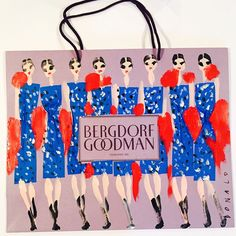 Collab with Donald Robertson & Bergdorf's coming soon!