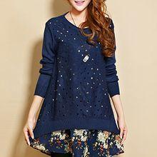 Fashion Street - Set: Pointelle Sweater + Dress