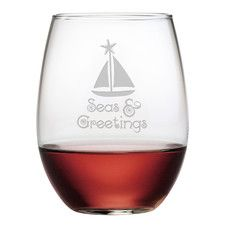 Features:  -Made in the USA.  -Capacity: 24 Ounces.  -Set includes 4 glasses.  Product Type: -Wine tumbler/Stemless wine glass.  Style: -Traditional.  Color: -Clear.  Primary Material: -Glass.  Number