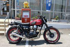 kawasaki w800 印南 うちのw子 wakayama カエル ポスト 郵便局 flog 蛙