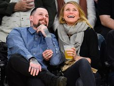 Star Tracks: Wednesday, January 28, 2015 | ONE CUTE COUPLE | Surfacing for the first time since their surprise wedding, Benji Madden and Cameron Diaz look every bit the glowing newlyweds at the Los Angeles Lakers vs. Washington Wizards game Tuesday night at the Staples Center in L.A.