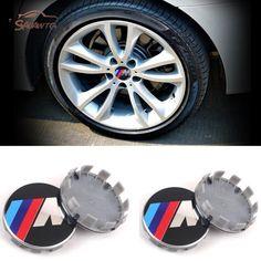4Pcs 20mm Car Wheel Center Decal Sticker 3D Hup Cap For BMW M Series x5 x3 m3 m4