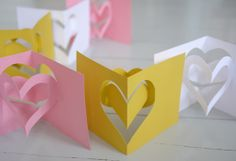DIY Valentine's Day cards   by Pinjacolada blog