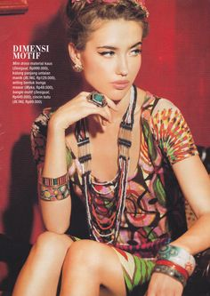 Stylist by Stephanie Kasim  Photo by Robin Alfian Model by Alena POSH #JOY #MAGAZINE #APRIL #2013 #FASHION #SPREAD