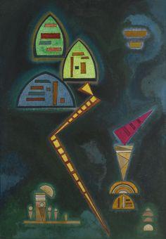 'Grün (Green)' by Wassily Kandinsky, 1929