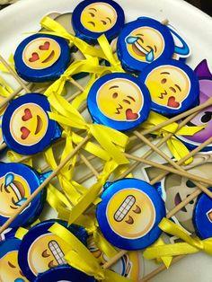 Paletas de Chocolate Emoji