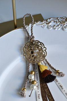 Christmas Ideas, Christmas Gifts, Lucky Charm, Tassel Necklace, Diy Ideas, Charms, Jewelry, Decor, Manualidades