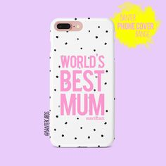 Our phone covers may just be our favourite product! We make high quality, hard-wearing plastic phone cases with a choice of 3 different finishes to suit your needs - Gloss, Matte or for an extra layer of protection 'tough' Best Mothers Day Gifts, Best Gifts, True Feelings, Phone Covers, Gifts For Him, Unique Gifts, Android, Range, Iphone