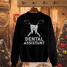 Diamond glitter Dental Assistant shirt, hoodie, sweater and V-neck t-shirt Rda Dental, Dental Receptionist, Dental Humor, Dental Hygiene, Lab Jackets, Dental Shirts, Dental Fillings, Dental Life, Scrub Jackets