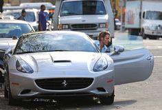 Lapo Elkann Parks His Ferrari
