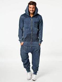 Invincible Jumpsuit - Onepiece - Navy - Jumpsuit - Kleidung - Herren - Nelly.At Mode Online