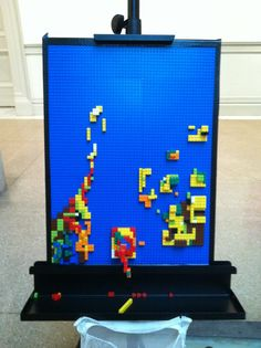 lego art at the corcoran
