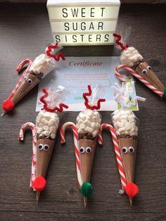 x15 Santa Soup Labels Christmas Eve Box Stocking Reindeer Hot Chocolate Snowman