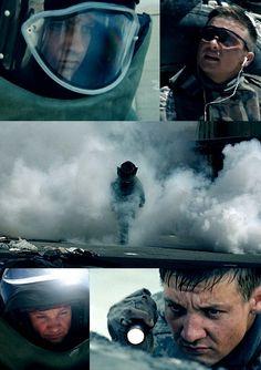 Jeremy Renner as  Sergeant William James in The Hurt Locker (2008)