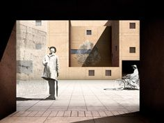RENDERS 3D PFC - Imagen 3D de fachada para el PFC ETSAM de Adriana Quesada Sánchez - ETSAM UEM UCJC ESAYT USPCEU USP CEU IE UAX UAH UPM ETSA...