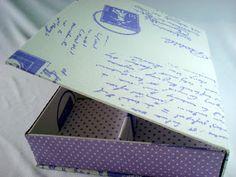 Caixa Livro Cartas Francesas  www.munayartes.com