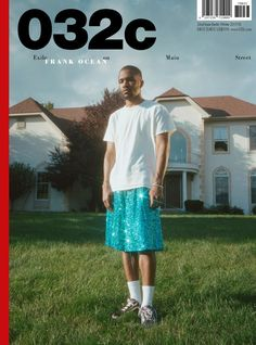 Frank Ocean by Petra Collins – 032c Issue 33