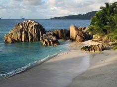 Anse Patate at sunset Seychelles