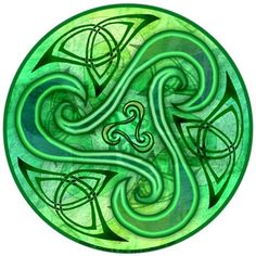The triple spiral or triskele is a Celtic and pre-Celtic symbol found on a number of Irish Megalithic and Neolithic sites.