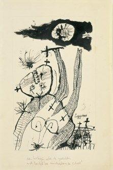 """LUCEBERT/""""Werda"""", 1951"""