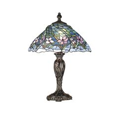 Love the peaceful colors Dale Tiffany TT101101 Pondsby Table Lamp, Fieldstone and Art Glass Shade: Amazon.ca: Home & Kitchen
