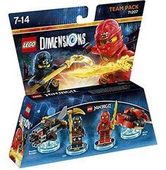 Figurine 'Lego Dimensions' - Kai & Cole - Lego Ninjago