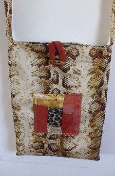 HANDMADE QUILTED COTTON  BAG BROWNS+GOLD TOTE BAG DEPTH 15 BAG LENGTH 13 PURSE | Clothing, Shoes & Accessories, Women's Handbags & Bags, Handbags & Purses | eBay!