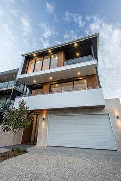 :: THE AVENUE :: Gallery :: Big House Little House :: Residential Building Design, Team Builders, Big Houses, Modern Kitchen Design, Brisbane, Entrance, New Homes, Driveways, Block Design