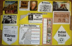 Free Daniel Boone lapbook by dynamic2moms.webs.com
