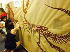 """News/Events @ Your Library: """"Library Event Shows That Kids Dig Dinosaurs"""" 