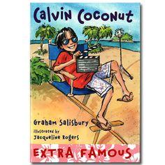 Calvin Coconut #9: Extra Famous by Graham Salisbury « Book-A-Day Almanac - Humor