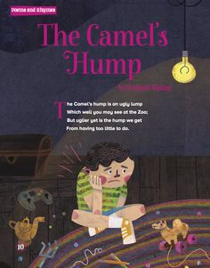 Rudyard Kipling's poem The Camel's Hump in Storytime Issue 20! ~ STORYTIMEMAGAZINE.COM