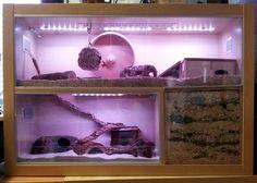 self-made ikea hamster home - set up