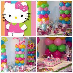 Birthday Party ~ Hello Kitty Balloon Dreams 1st birthday Party