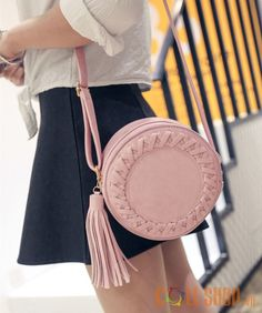 Cheap bag share, Buy Quality bag directly from China bag vietnam Suppliers:  Round Women Tassel Bag Woven Crossbody Bags For Womens Shoulder Bag Ladies  Cute ...