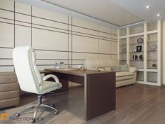 Интерьер домашнего кабинета / Home office / home office ideas / home office decor / by Pevel Polinov Studio #design #interior #homedecor #interiordesign