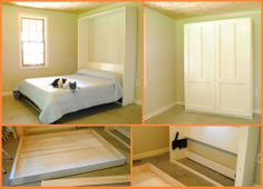 A bedroom short on space and serving multiple purposes might need this Murphy bed. If it's the same case with your bedroom, then view the full album of this project at http://theownerbuildernetwork.co/joja Do you know someone who needs this too?