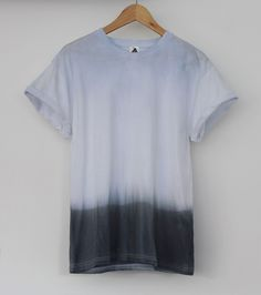 AndClothing Midnight Black Dip Dye Tee #dipdye