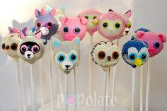 beanie boo cakepop ideas - Google Search