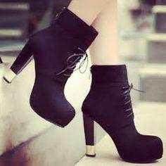 Booty, Ankle, Heels, Fashion, Heel, Moda, Swag, Wall Plug, Fashion Styles