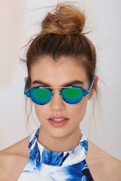 Raddick Blues Shades | Shop Accessories at Nasty Gal!