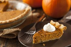 An Oceania Cruises Recipe: Classic Pumpkin Pie with Ginger Whipped Cream